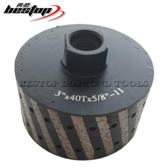 "2/"" Zero Tolerance Diamond Drum Wheel Sink 4/"" Polishing 8+1 Pad Granite concrete"
